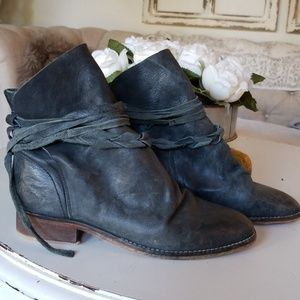 Free People leather booties